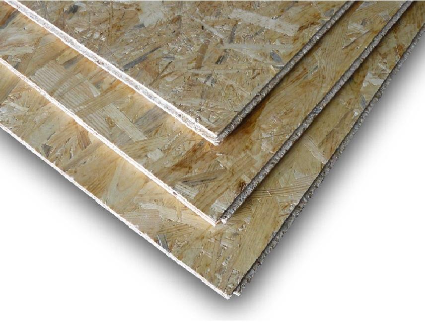 OSB desky 3 Superfinish P+D Kronospan tloušťka OSB desky: 12 mm